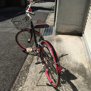 女性or子供用 かわいい自転車 24インチ - 神戸市