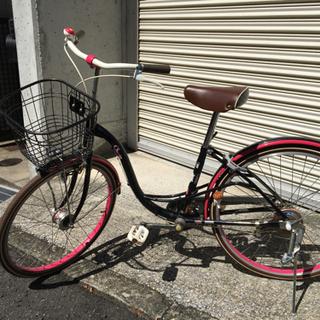 かわいい自転車 24インチ