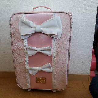 リズリサのキャリーバッグとショップバッグ