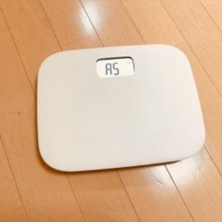 【ネット決済】体重計【無印良品】説明書無し