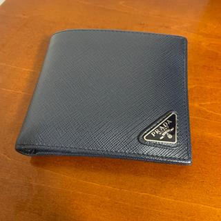【ほぼ未使用】PRADA 財布 サフィアーノ 二つ折り