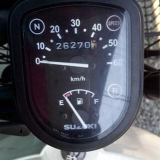 スズキ バーディー 50cc 原付  − 佐賀県