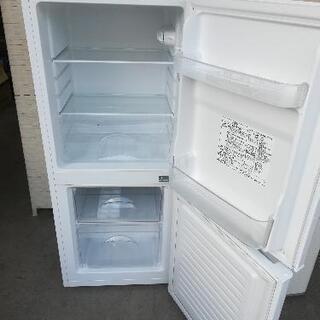 【送料・設置無料】⭐ニトリ冷蔵庫106L+アクア洗濯機4.5kg⭐JWG96 - 家電