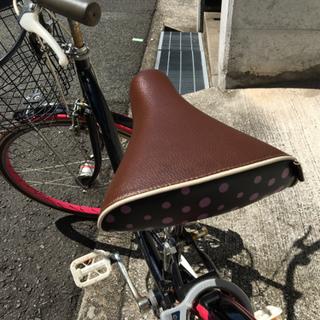女性or子供用 かわいい自転車 24インチ - 車のパーツ