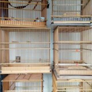 竹細工 鳥籠
