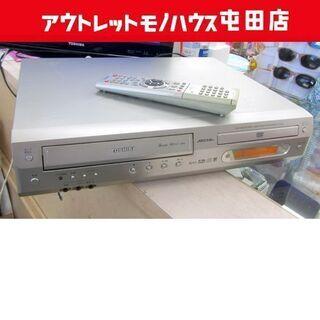 東芝 VHSビデオテープ&DVDプレイヤー 一体型 2002年製...