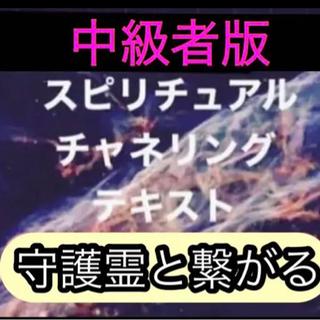 中級者版チャネリングテキストを5500円でお伝えいたしますと。 ...