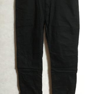 ユニクロ メンズ 綿 黒 W91〜94cm