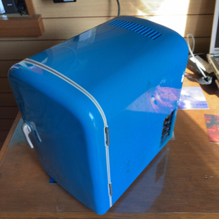 AC DC 室内 車内 ポータブル冷蔵庫 温熱機 500ミリリッ...