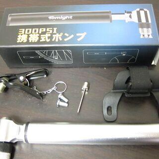空気入れ☆携帯フロアポンプ HQ-66A 米式・仏式・英式の画像