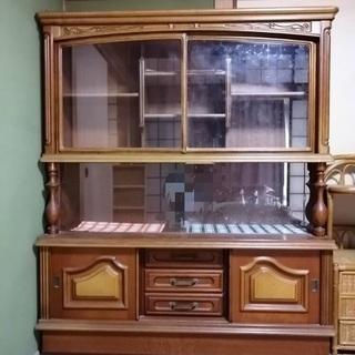サイドボード飾り棚コレクションキャビネット