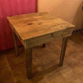 【バラ売り、値引き可】アンティーク調テーブル×2