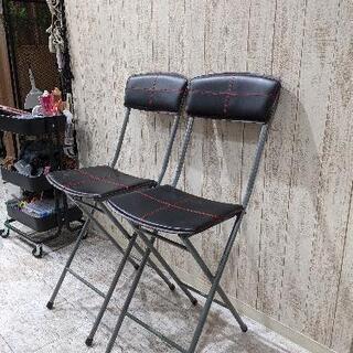 パイプ椅子差し上げます