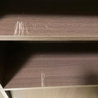【お譲り先決定しました】ディスプレイラック 本棚 収納棚 シェルフ - 家具