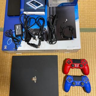 【ネット決済・配送可】PlayStation4 pro ssd交...