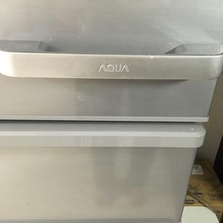 冷蔵庫 アクア AQR-36HL(S) - 日野市