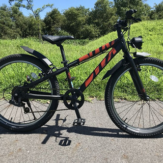 【☆美品☆】ジュニア向け自転車24インチ / BWX - …