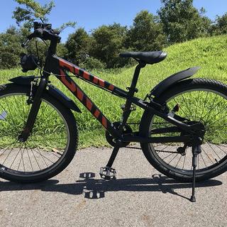【☆美品☆】ジュニア向け自転車24インチ / BWX - ブリヂストン【整備済み】 - 守山市
