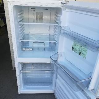 【送料・設置無料】⭐ツインバード冷蔵庫110L+アクア洗濯機4.5kg⭐JWH01 - 家電