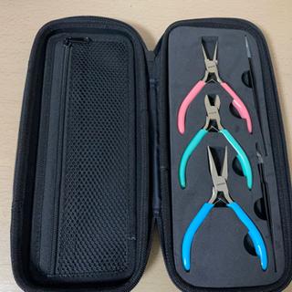 ハンドメイド用工具セット(ヤットコ、ニッパー、ピンセット)