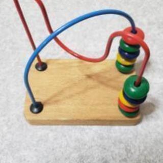 赤ちゃん 指遊び ルーピング ビーズコースター 知育玩具