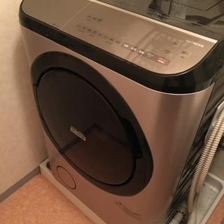 【ネット決済】【交渉10/17まで】日立ドラム式洗濯機 HITA...