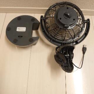 クリップ&デスクファン(ミニ扇風機) - 生活雑貨