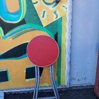 折りたたみ式丸椅子