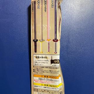 鬼滅の刃 日輪刀型鉛筆&キャップセット - 家具
