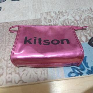 キットソン ポーチ ピンクの画像