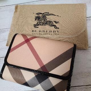 【ネット決済・配送可】バーバリー 折り財布