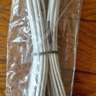 電源ケーブル 1.25mm2本寄線 5m