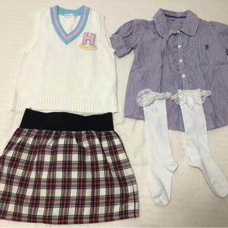 女の子140 衣類セットの画像