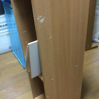 28センチ幅のカラーボックス − 奈良県