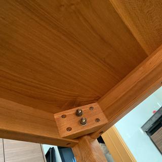 無印良品タモ材ダイニングテーブル − 京都府
