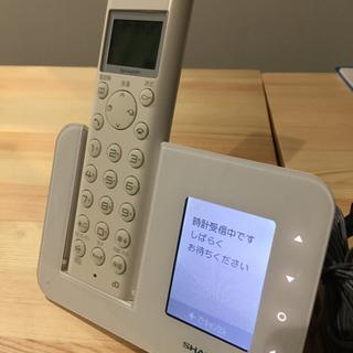 コードレス電話 シャープ JD-3C1CW-Wの画像