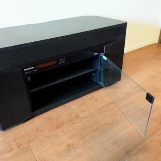 お取引中:【美品】Panasonic テレビラックシアターステレオ 2.1ch 消毒済み - 家具