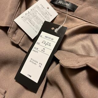 バックプリーツ オーバーサイズ シャツワンピース タグ付き 新品 未使用品 MサイズからLサイズ - 服/ファッション