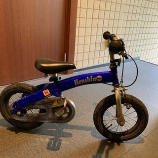 へんしんバイク 12インチ 青