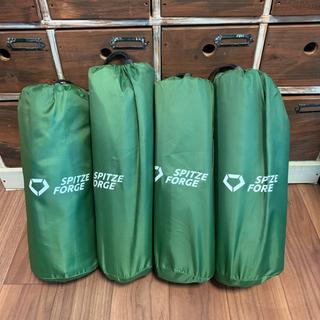 エアーマット  足踏み式 スポンジ枕付き 収納袋付き 軽量
