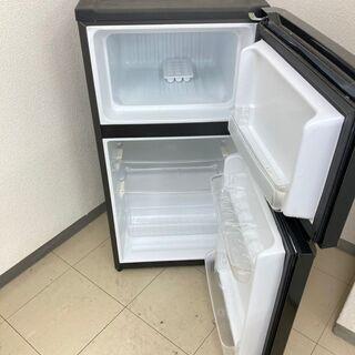 【美品】【地域限定送料無料】冷蔵庫 Haier  106L  2014年製 CRA091904 - 家電