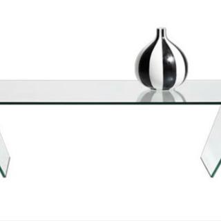【ネット決済】Bo concept 一枚ガラスコーヒーテーブル