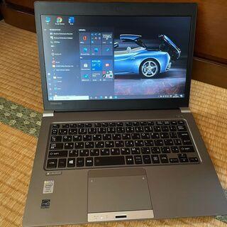 ⑥【第4世代i5、高速SSD、オフィス、バッテリ良好】dynab...