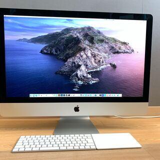 【ネット決済・配送可】iMac 5K 27インチ (Late 2...