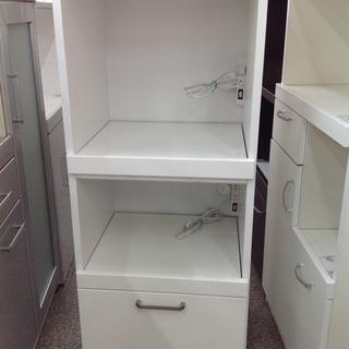 ホワイト 木製 キッチンボード【9659900】