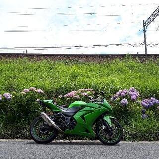 【ネット決済】チョイ値下!三重Ninja250R 走行3.5万程