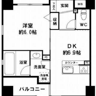【西大橋駅】ペット可🐶 駅徒歩5分🦶 オートロック付👀