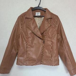 OLIVEdesOLIVE ライダースジャケット