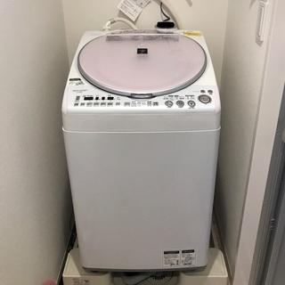 25日(土)引取限定 値下げ シャープ8.0kg タテ型洗…