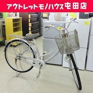 自転車 26インチ サビ多め カゴ付き Marukin Fonc...